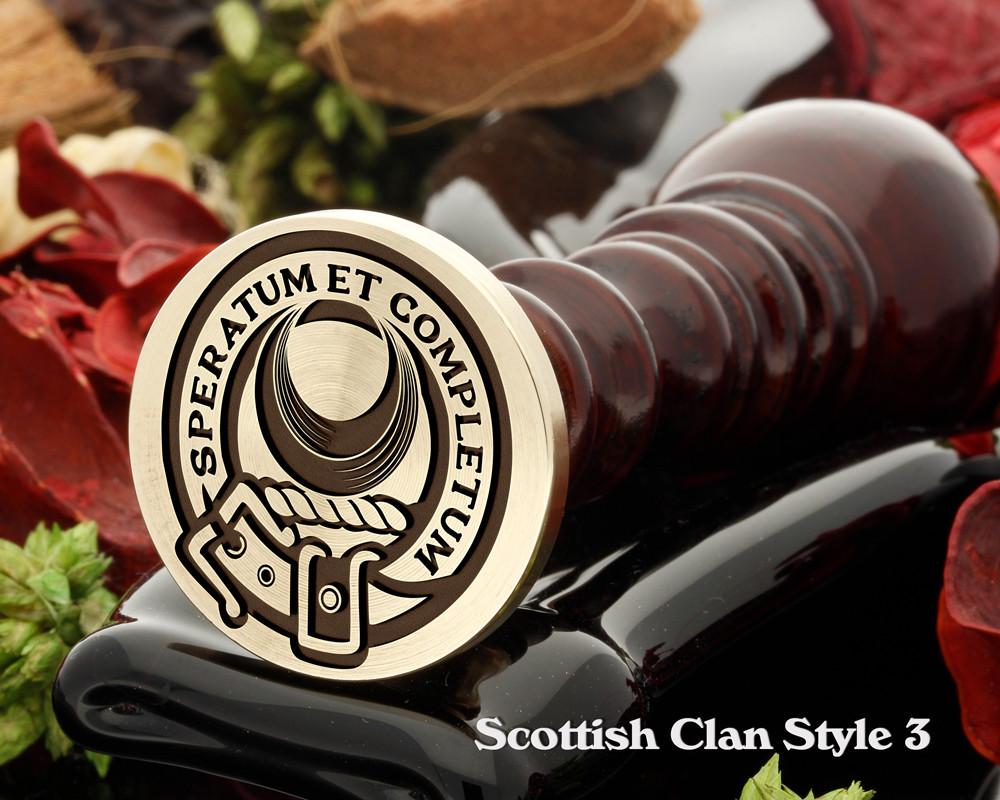 Arnott Scottish Clan Wax Seal Design 2