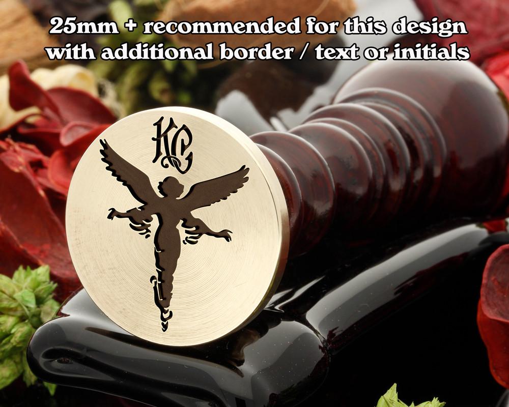Guardian Angel Wax Seal, monogram extra cost