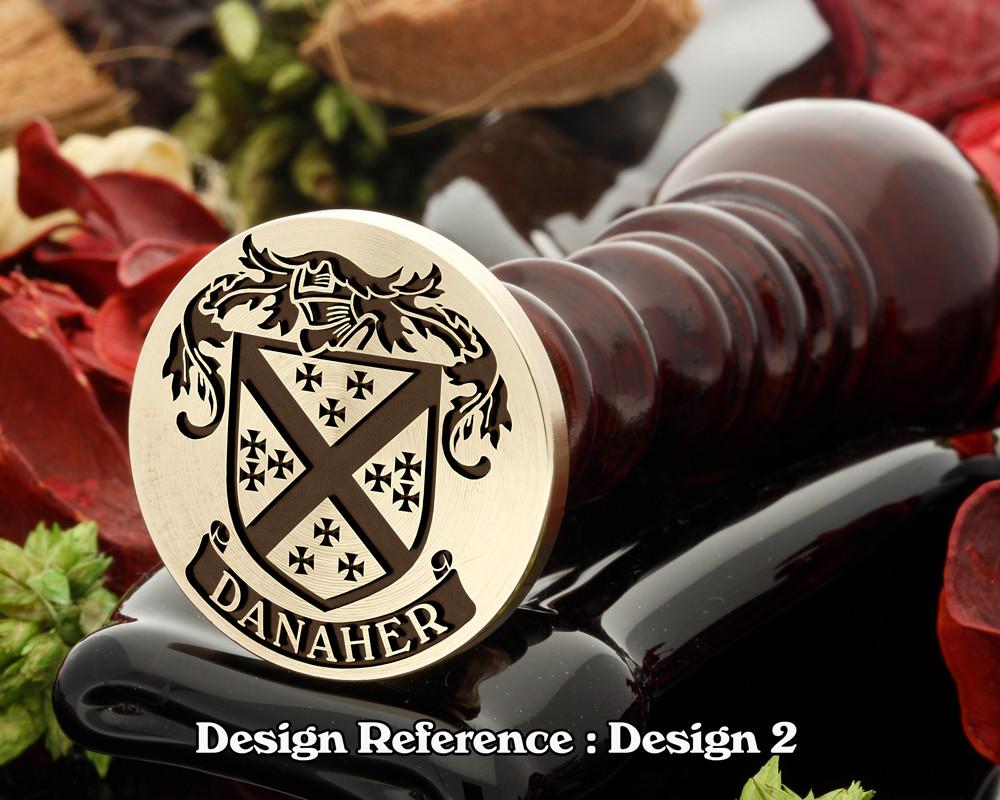 Danaher Family Crest D2