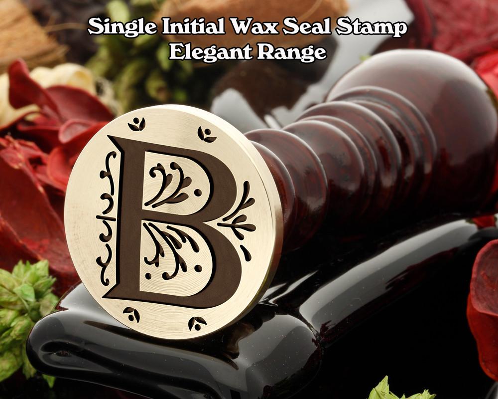 Elegant Range Wax Seal Initial B