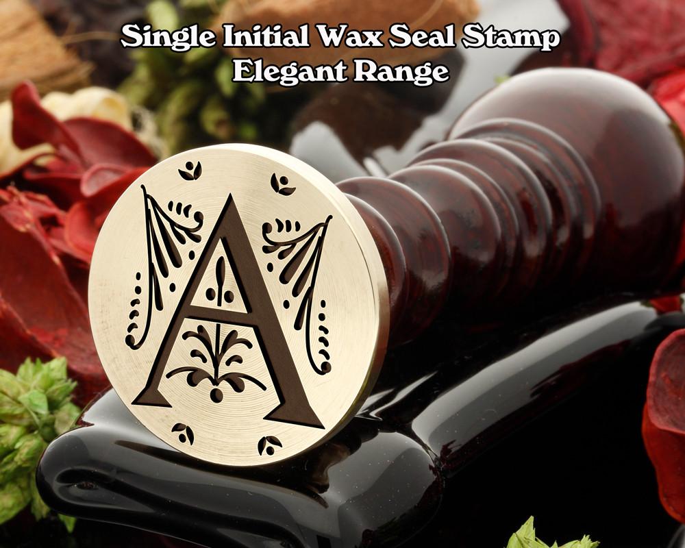 Elegant Range Wax Seal Initial A