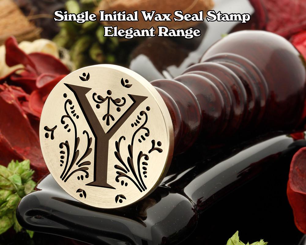 Elegant Range Wax Seal Initial Y