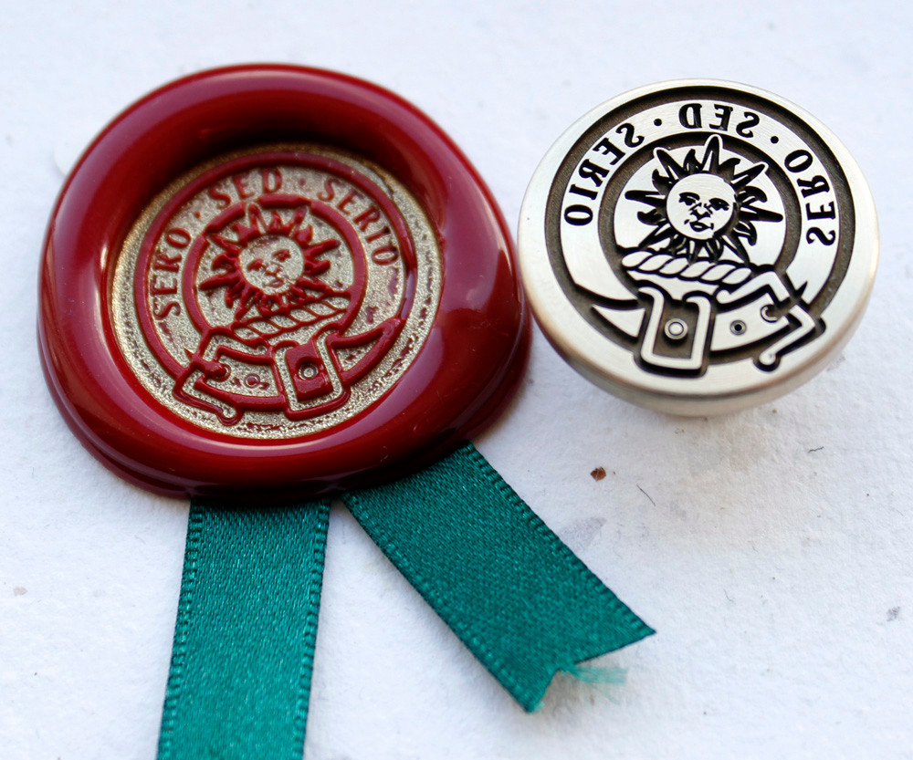 Aiton Clan Wax Seal Stamp