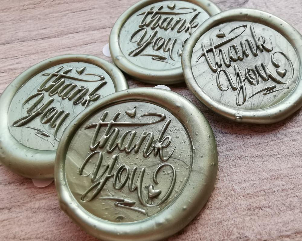 Thank you Wax seal Sticker