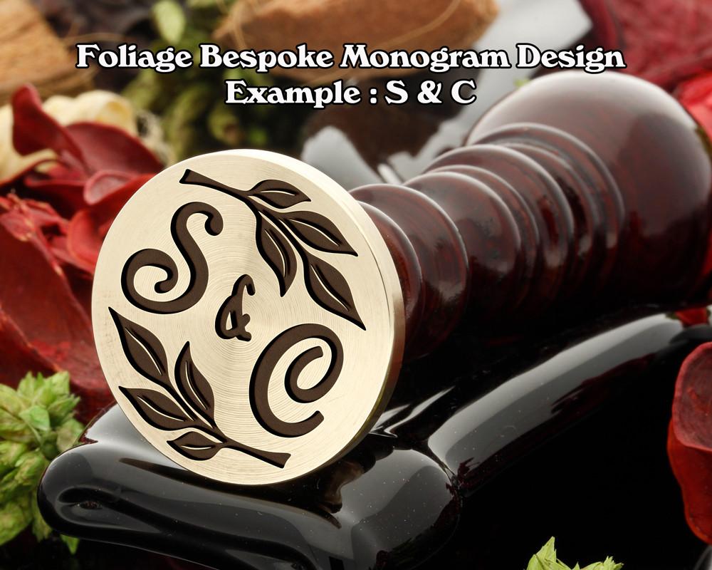 Foliage Monogram Example S&C