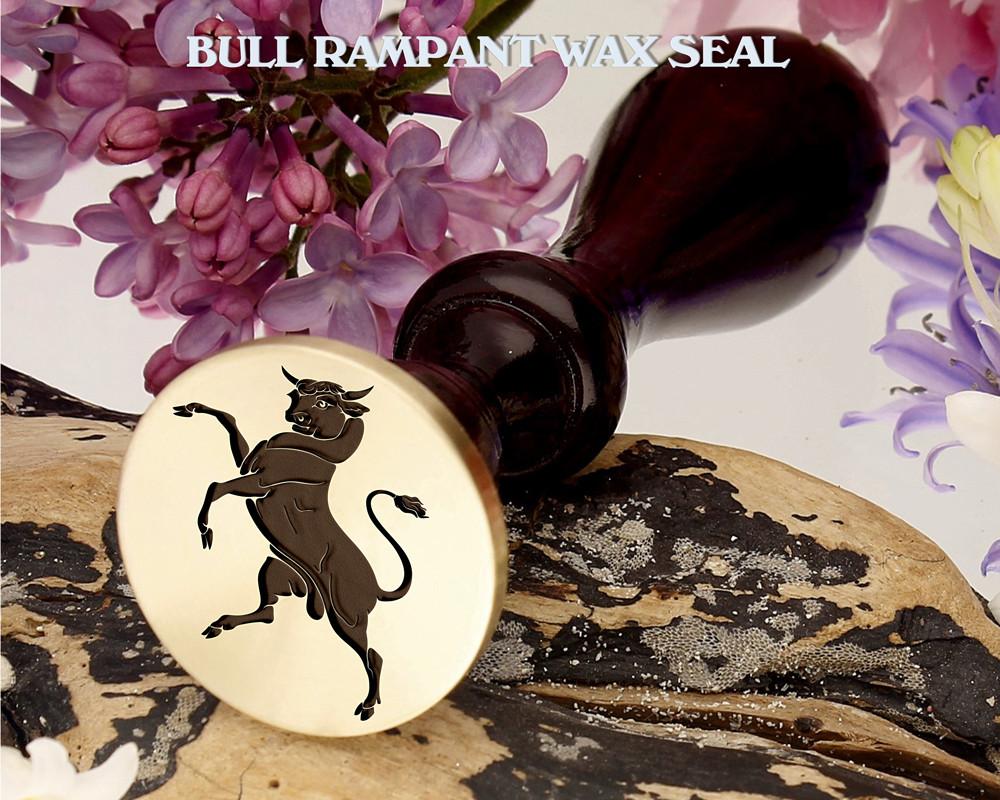 Bull Rampant Wax Seal