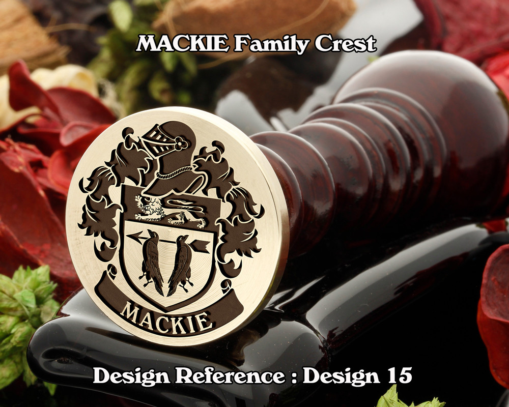 MACKIE Family Crest Wax Seal D15