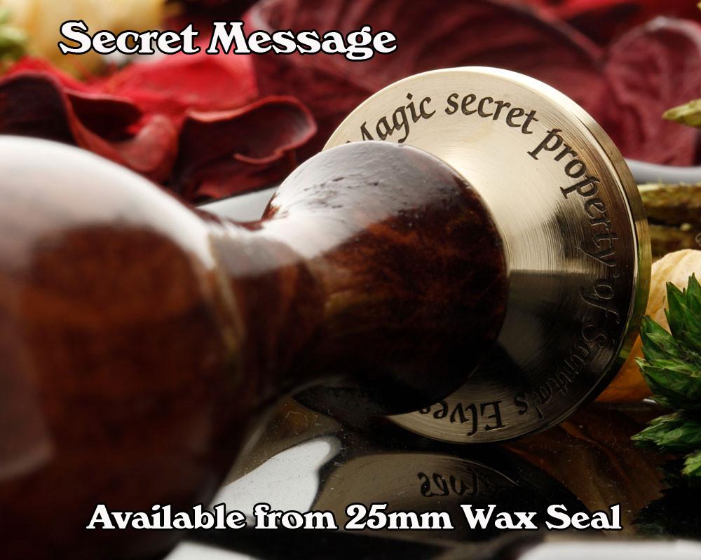 Thistle n Rose Wax Seal Stamp D2