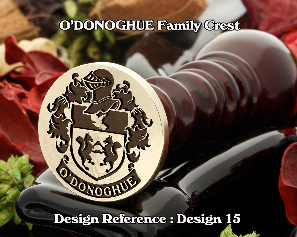 O'DONOGHUE Family Crest Wax Seal D15