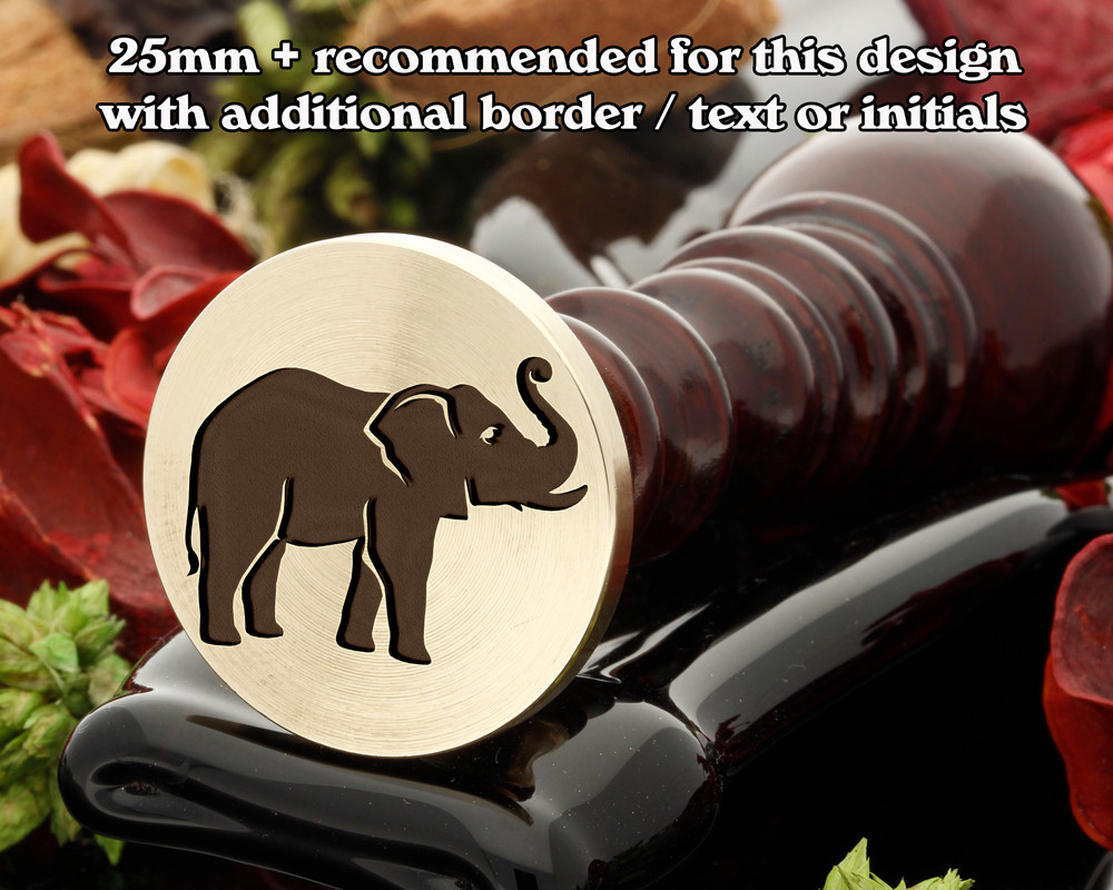 Elephant Wax Seal Stamp