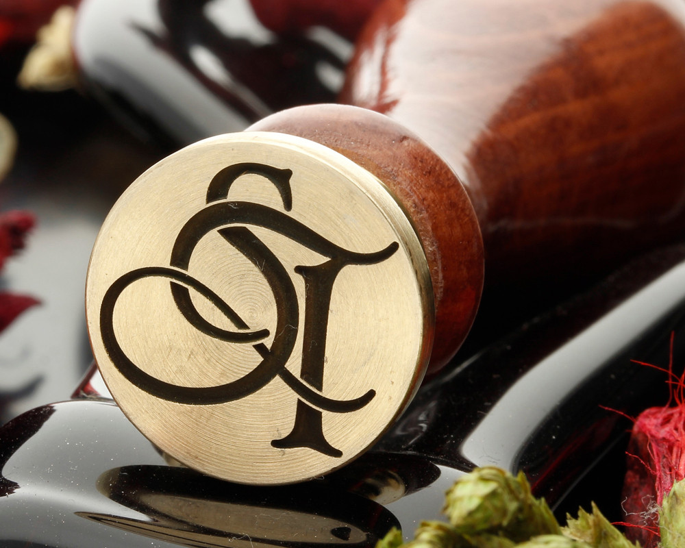 ST Wax Seal Monogram (photo reversed)