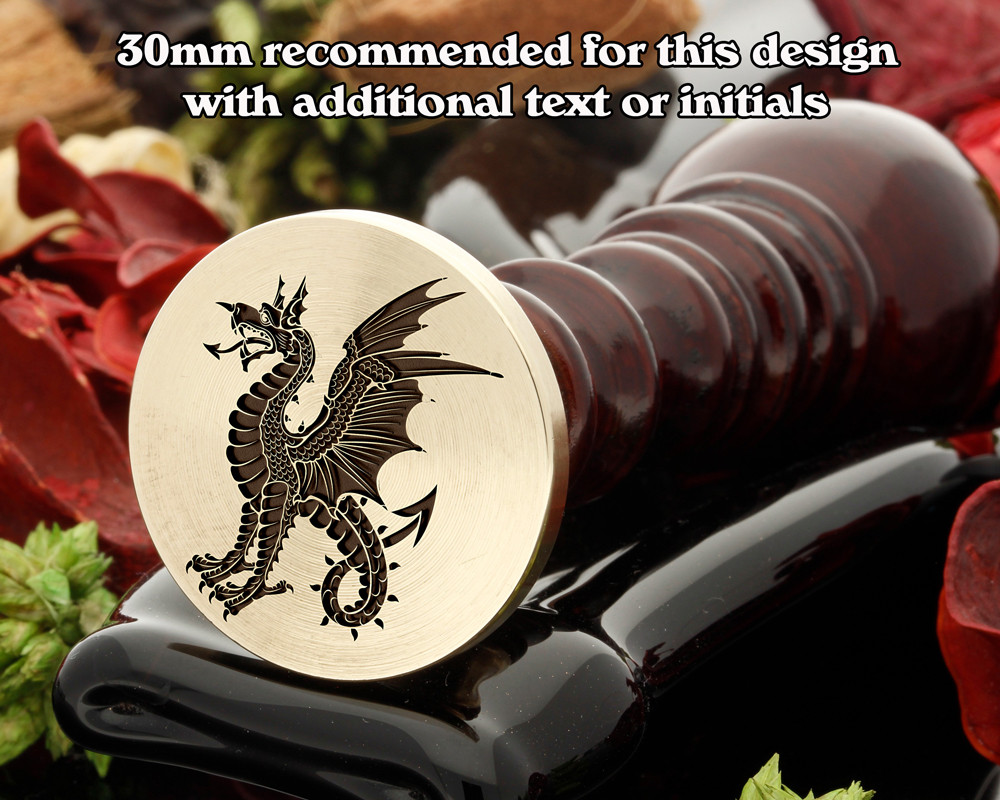 Dragon D14 Wax Seal Stamp