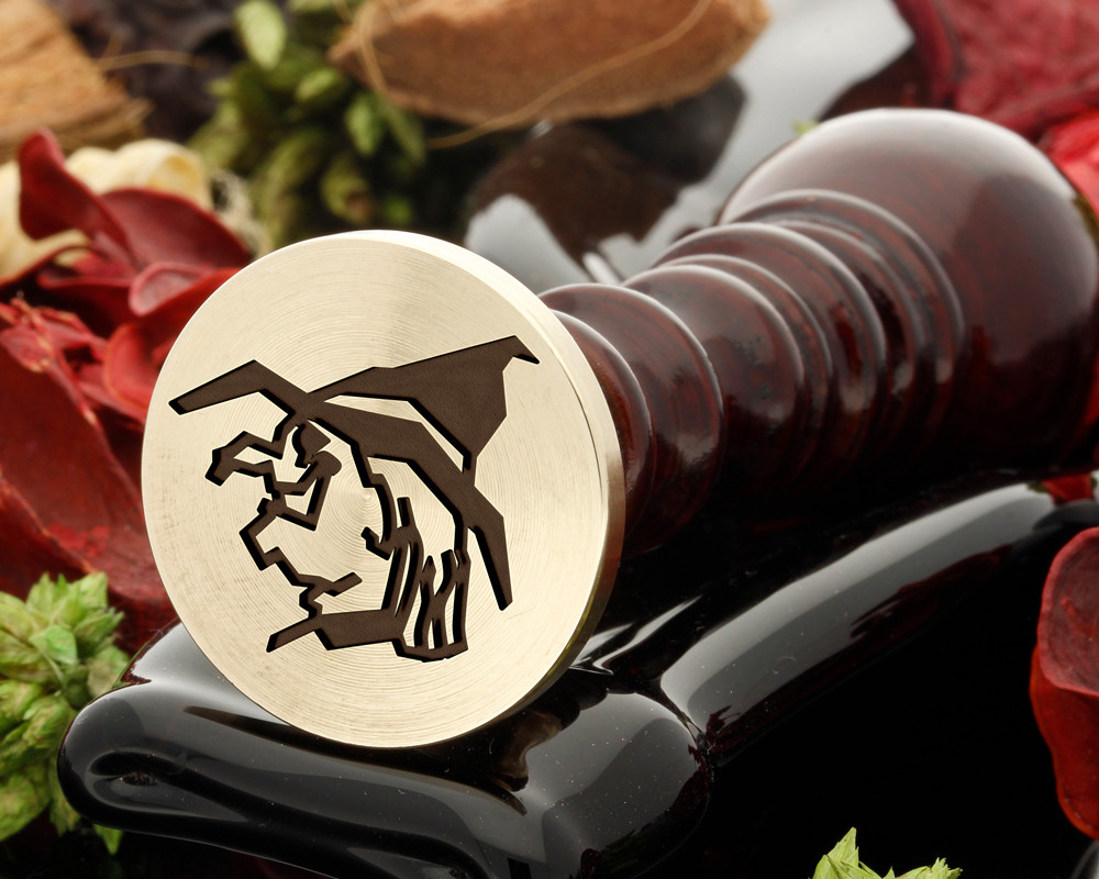 Witch Halloween Wax Seal