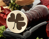 Shamrock 2 wax seal