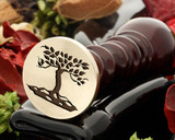 Tree 9 wax seal