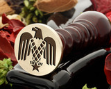 Eagle of the USA Wax Seal