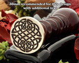 Celtic D14 Wax Seal Stamp