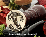 Abernathy Family Crest Wax Seal D2