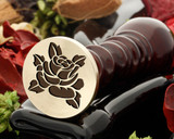 Rose 2 wax seal