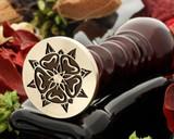 Tudor rose 3 wax seal