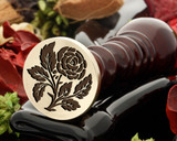 Rose 8 wax seal