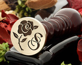 Rose 14 wax seal