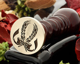Wheat bow wax seal