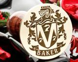 Baker Family Crest Wax Seal