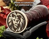 Lion D13/N Wax Seal Stamp