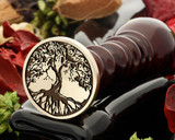 Tree 14 wax seal