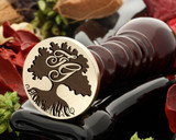 Tree 15 wax seal with initials (additional cost)
