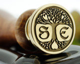 Bespoke Pagen Tree of Life, Custom Drawn Design, add initials extra option.