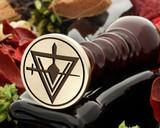 Masonic Cryptic Council 2 wax seal