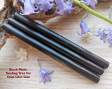 Black Plain sealing wax for 7mm glue gun price per stick
