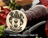 Pacheco Family Crest Wax Seal D21