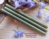 Moss Green sealing wax for 7mm glue gun