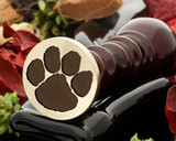 Dog Paw Print Wax Seal