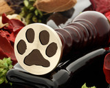 Cat Paw Print Wax Seal