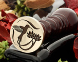 Hummingbird Double Flower Design 2 Wax Seal
