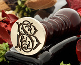Design 1 BS SB Victorian Monogram Wax Seal