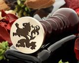 Crest Lion 1 Wax Seal