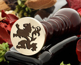 Crest Lion 1 Wax Seal