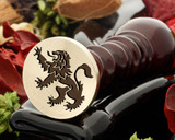 Crest Lion 4 Wax Seal