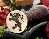 Crest Lion 5 Wax Seal