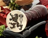 Crest Lion 7 Wax Seal