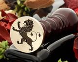Crest Lion 11 Wax Seal