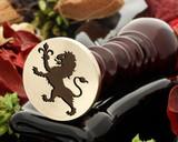 Crest Lion 13 Wax Seal