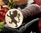 Crest Lion 15 Wax Seal