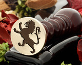Crest Lion 15 Wax Seal
