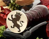 Crest Lion 16 Wax Seal